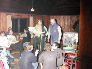 2002-02 Jahresabschlussfeier mit Tauchertaufe